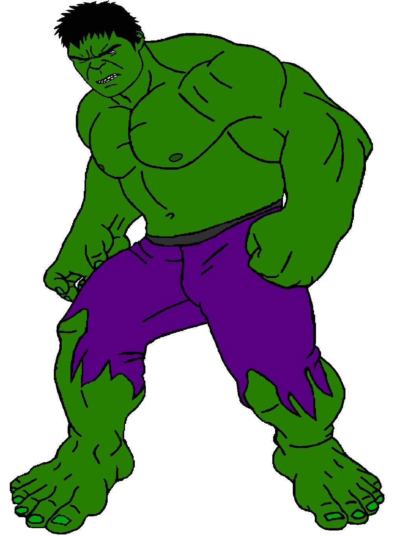 Cartoon hulk pictures