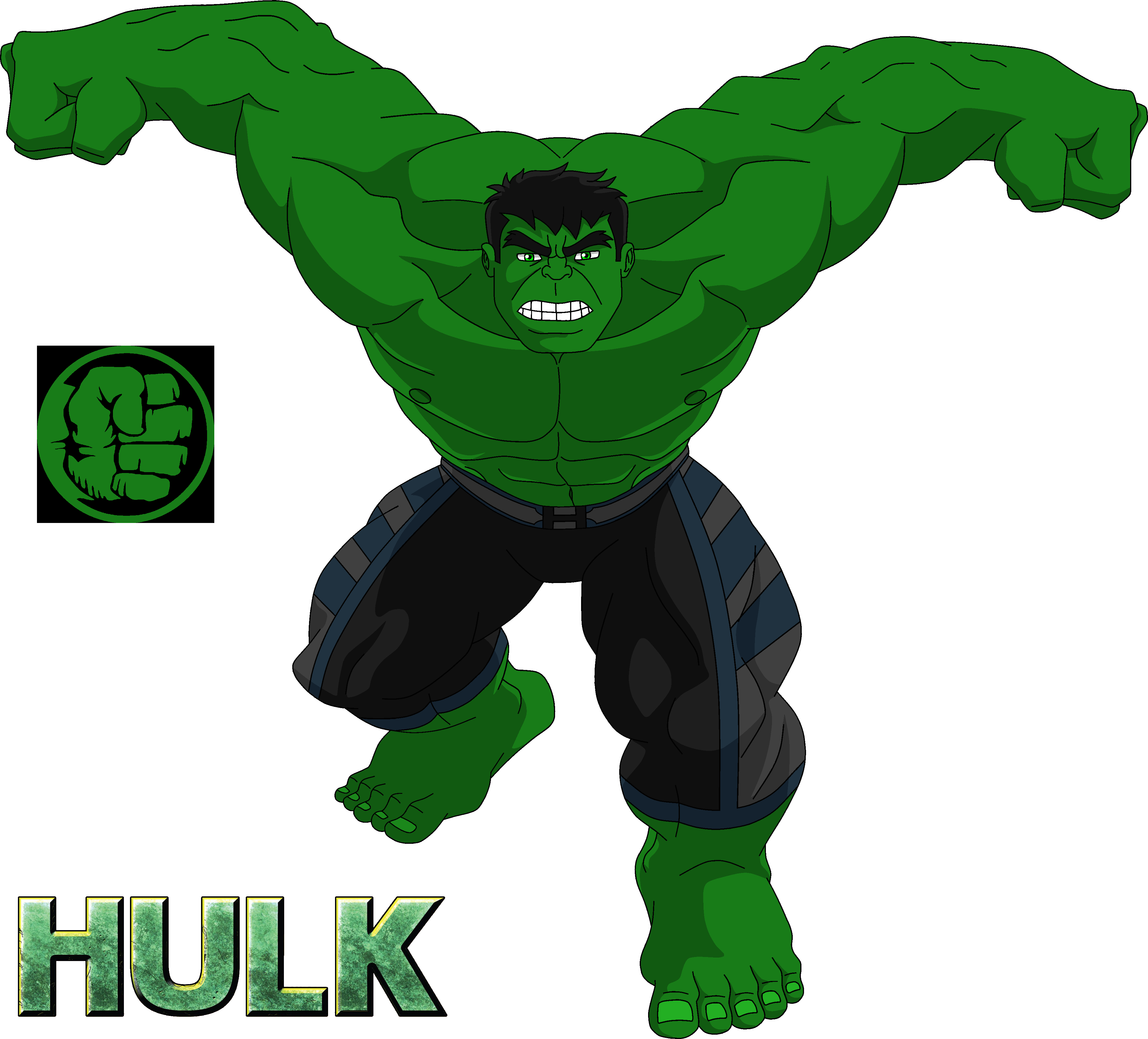The Incredible HULK by steeven7620 on DeviantArt
