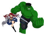 Hulk And Erza
