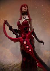 Elesis Crimson Avenger Cosplay #9 by DrawMeaCosplay