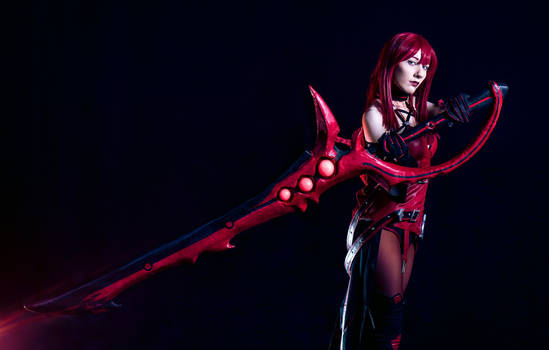 Elesis Crimson Avenger Cosplay #30 DmC - A. Atlesq