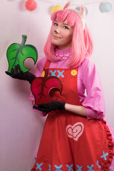 Reese Cosplay #1 (From Animal Crossing) by DmC