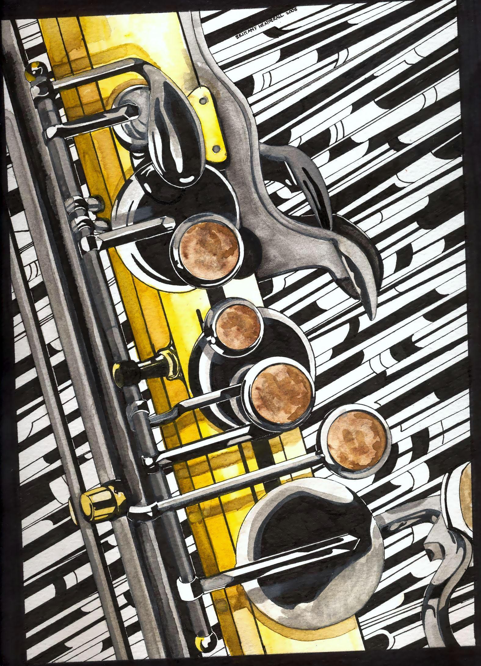 Saxophone by Ryerd