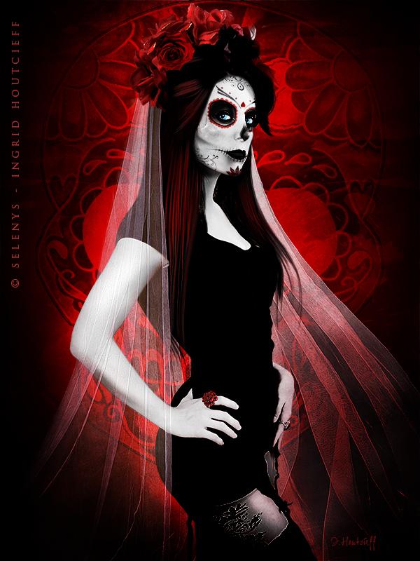 Dia de los muertos by Selenys