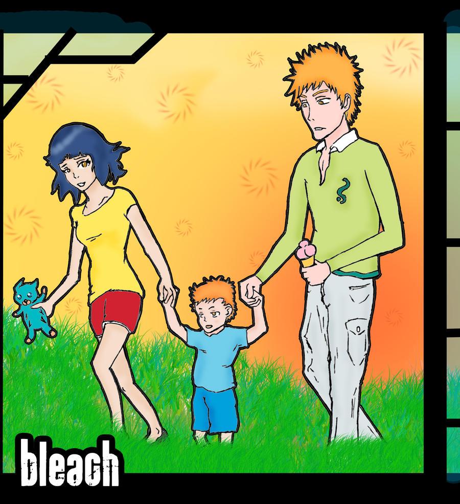 Soifon and Ichigo with... by Vaknyk