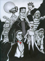 The Universal Monsters by vibog-3