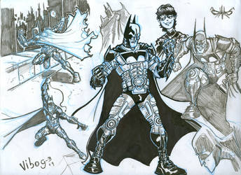 Batman sketches by vibog-3