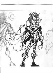 SUPERMAN LIVES sketch by vibog-3