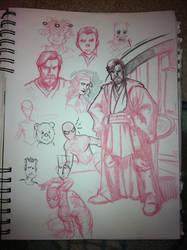 Random Sketches by vibog-3