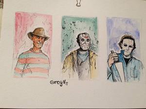 80's Horror Icons