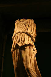 Headless Robed Statue