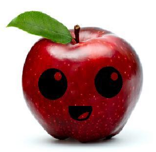 cute apple by habib-princess on DeviantArt