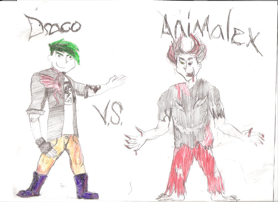 DRACO vs. ANIMALEX by fanficdude