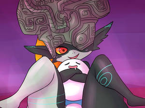 Commission - Midna and Chaoz (censored)