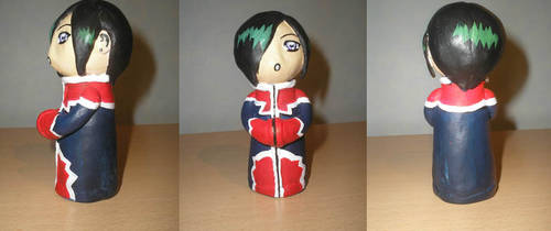 Chibi Count D figure by NikoH