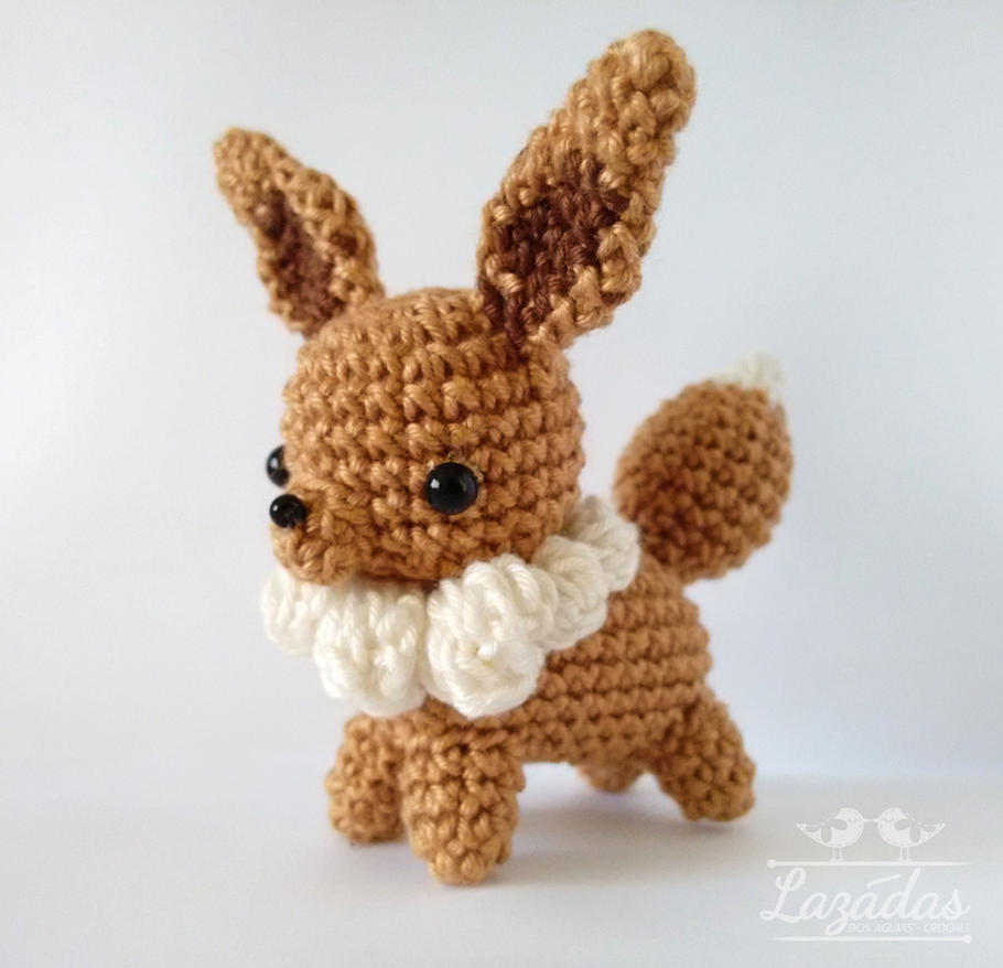Amigurumi Pokemon Eevee : Eevee amigurumi pokemon by iamitha on DeviantArt