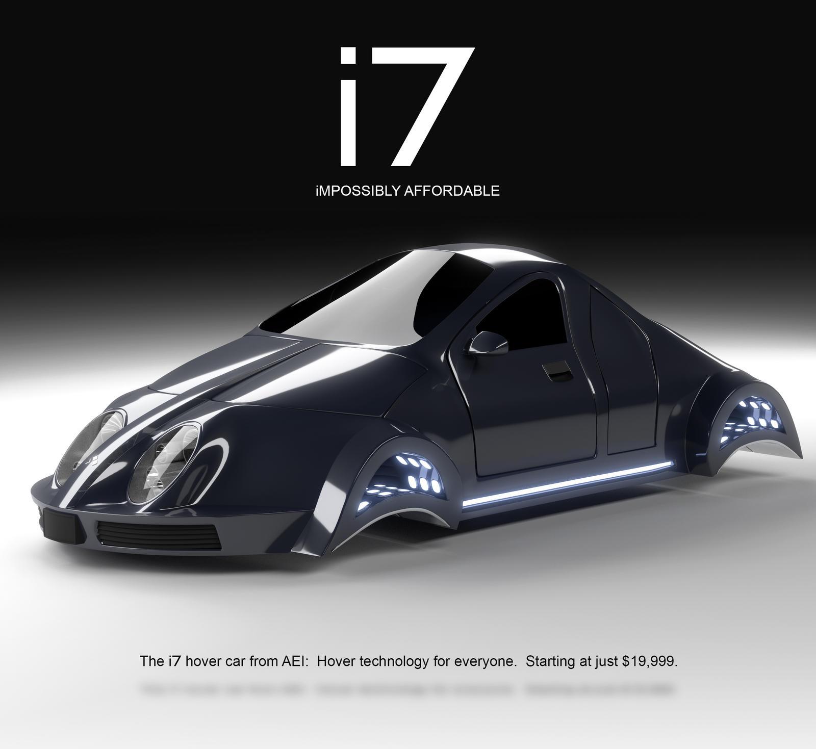 i7 hover car by boningerworks