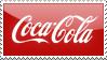 coca cola stamp