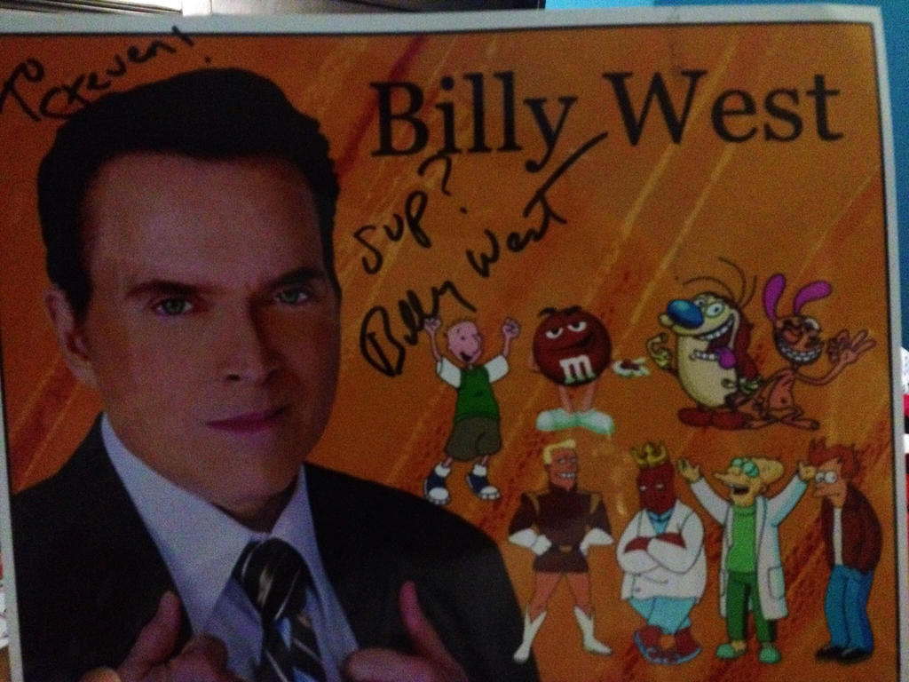 Image result for billy west autograph