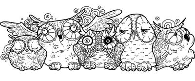 owls by supremelyUK