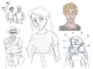 sketches (im alive!)