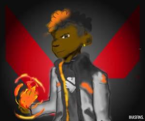 Phoenix - Valorant Fanart (With Versions)