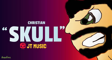 'Skull' (JT Music Fanart) | IHasFins