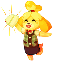 Isabelle is in Smash Ultimate by SoyotheNerd