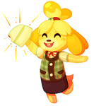 Isabelle is in Smash Ultimate