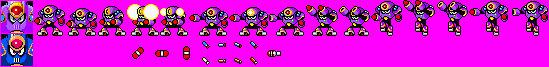 NapalmMan in Sega Master System style