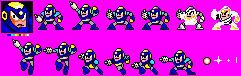 FlashMan in Sega Master System style