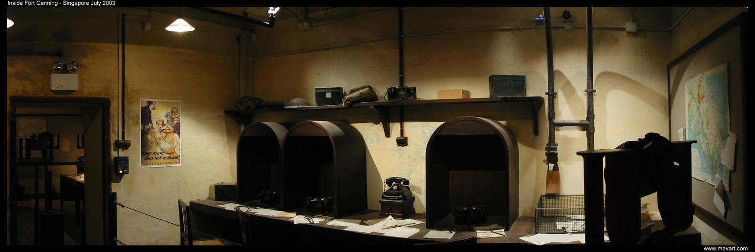 Inside Fort Canning 1