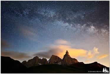 Starry Night - Dolomites by e-edo
