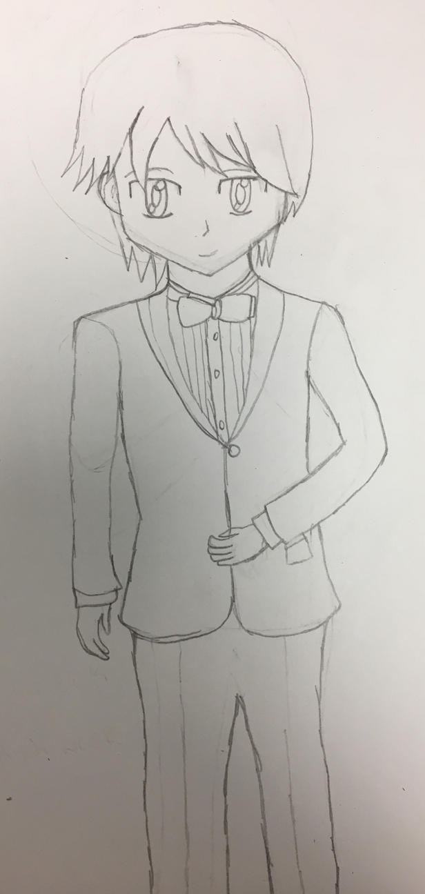 Ace in a tuxedo. (Oc) by realsonichungergames