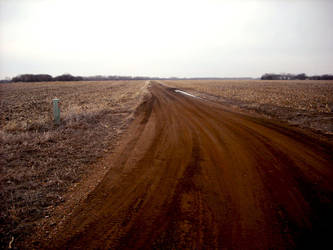 dirt road by art-overflow