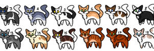 20 Cat Adopts (5 points) - OPEN (1/20)