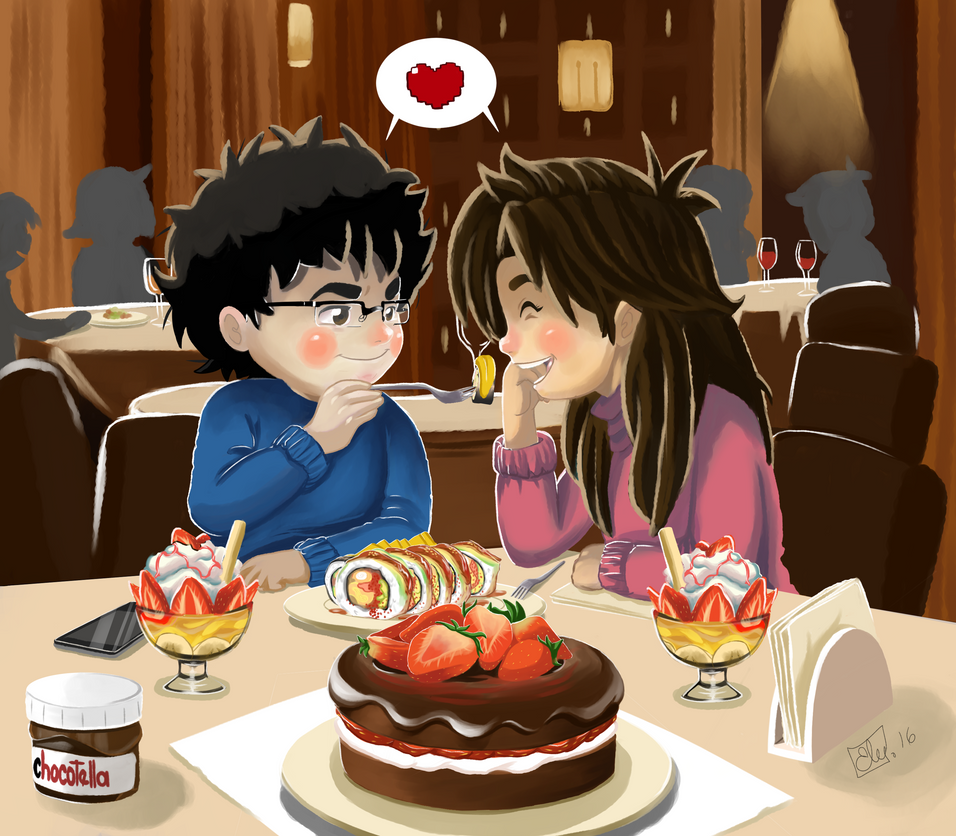 Happy valentines day / Happy 10th aniverdary by pachaline