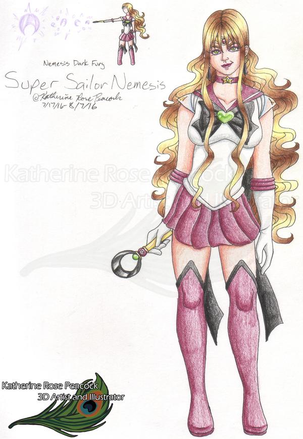 My Alter Egos - Super Sailor Nemesis - 2016 by KatherineRosePeacock