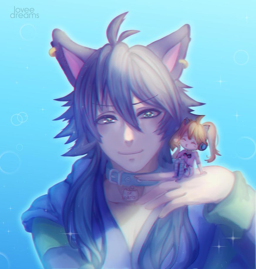 Sr Gato by loveedreams