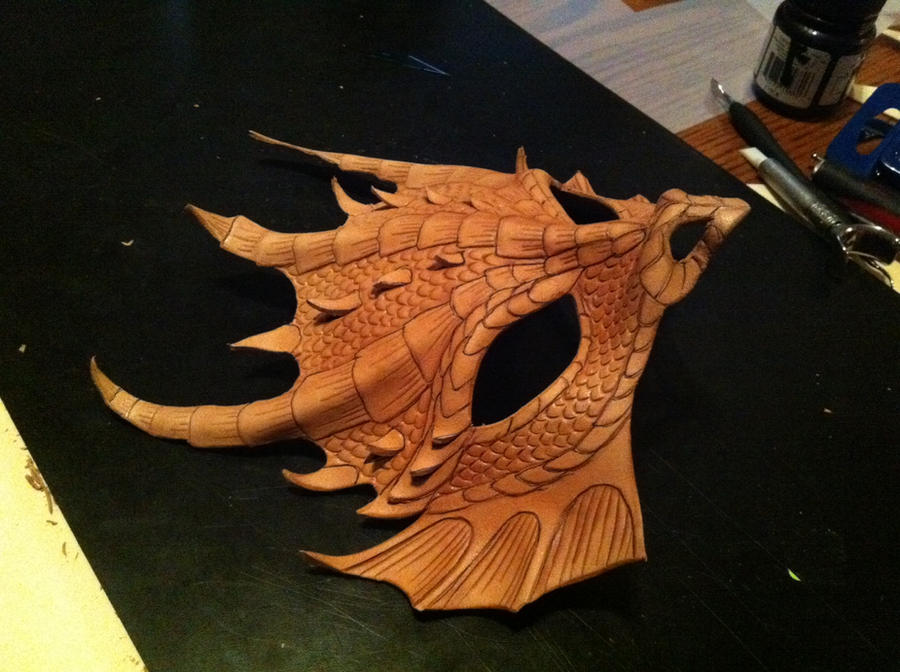 Dragon in Progress by pilgrimagedesign