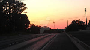 Texas Country Sunset 2