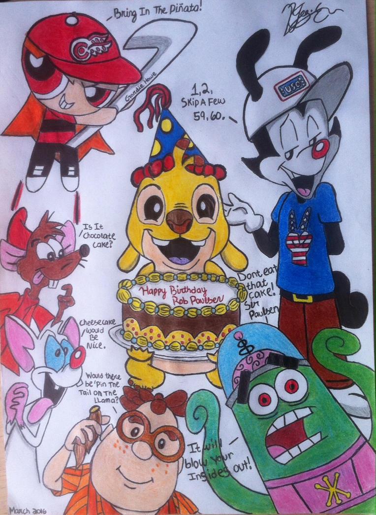 Yakko Warner Birthday Cake