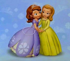 Princess Sofia And Princess Amber by YesiEguia