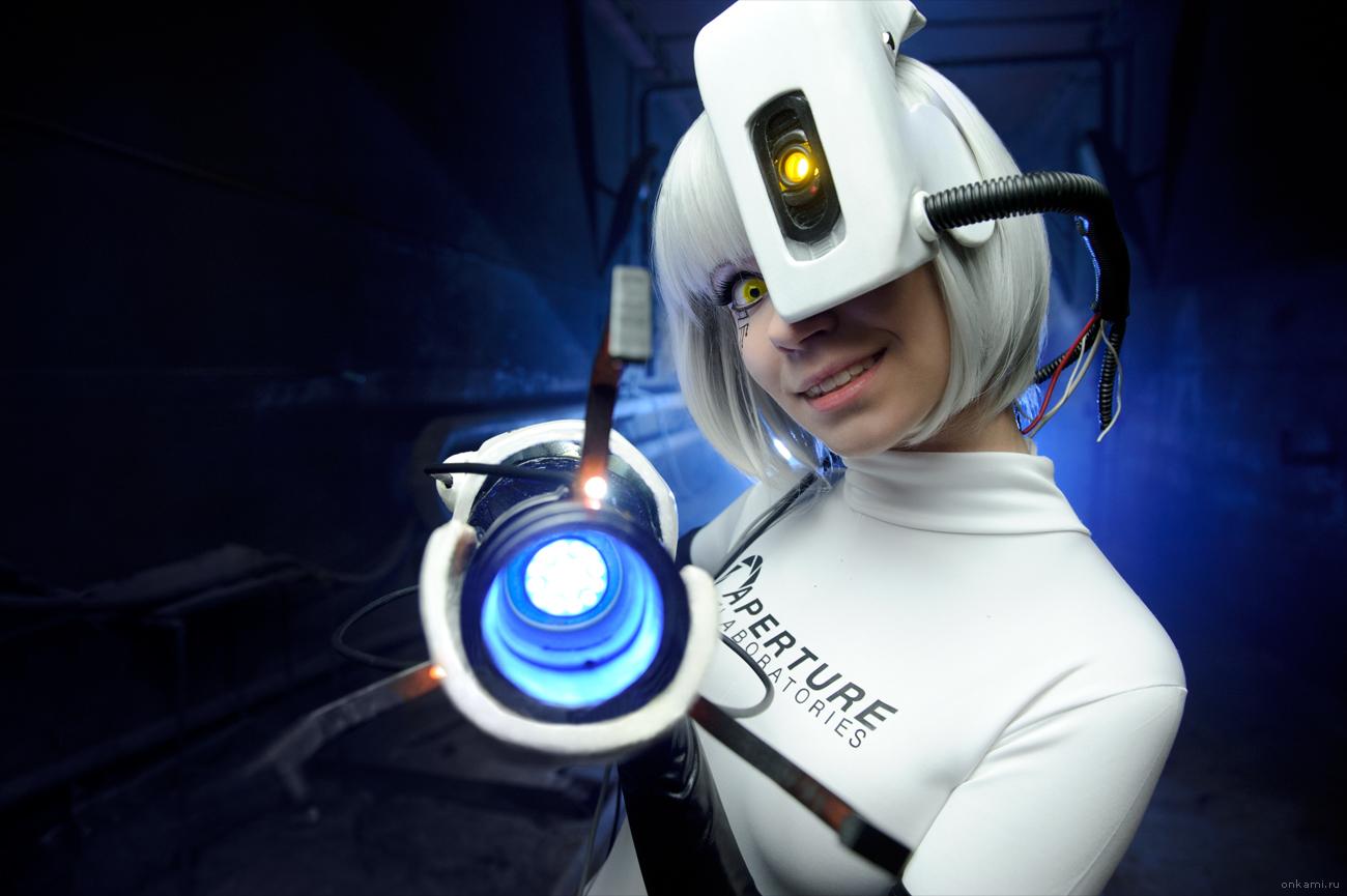 GlaDOS cosplay Portal 2 by onkami on DeviantArt