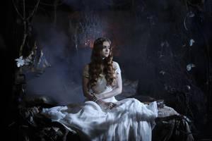 In a moonlit room