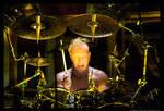 Demonic drummer