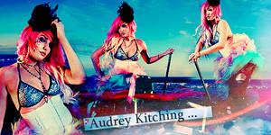 Audrey Kitching.
