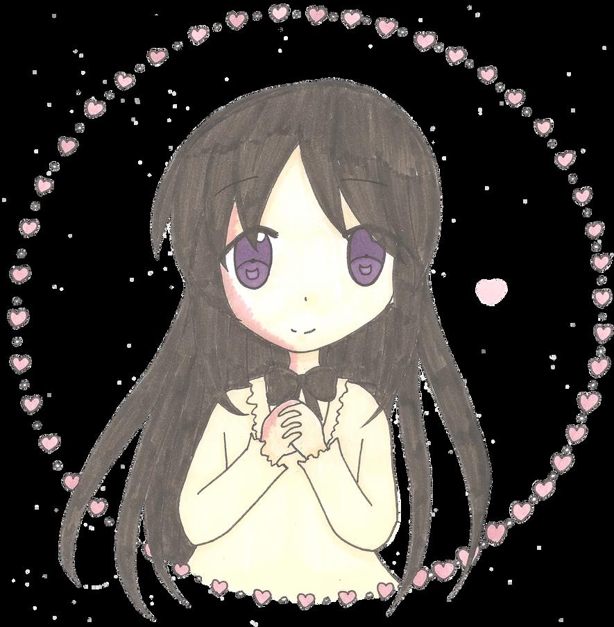 Hanako's Valentine by wavemaster-fay