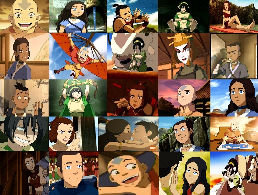 Avatar airbender characters avatar the last airbender