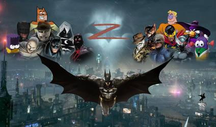 Batman clones by kraken626